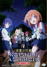 Koisuru Asteroid Vol.1-12 End English Subtitle DVD Ship From USA