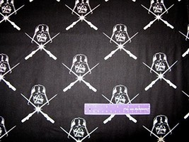 "43"" Wide STAR WARS GID Darth Vader Cotton Fabric BY THE HALF YARD - €18,67 EUR"