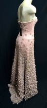 BCBG Max Azria ATELIER embellished TULLE Gown dress Pink Red Carpet Bowl - $1,611.09