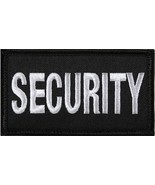 "Black & White Security Hook Patch 1-7/8"" x 3-3/8"" - $5.29"