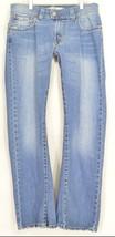 Levi 542 jeans slouch 10 x 31 flare twisted leg flap back pockets boho h... - $69.29