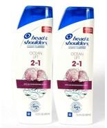 2 Bottles Head & Shoulders 13.5 Oz Ocean Lift 2 In 1 Shampoo & Conditioner  - $28.99