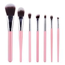 Type FY MAANGE 7Pcs Makeup Brushes Soft Eyeshadow Eyeliner Power Cosmeti... - $10.00