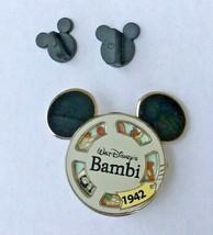 Disney Pin Reel Character Bambi Disney Pin Disneyland Limited Edition 1000 - $24.99