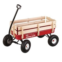 Duncan Mountain Wagon - Pull-Along Wagon for Kids with Wooden Panels, Al... - $173.57