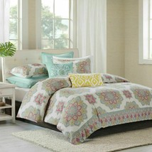 Echo INDIRA RED Duvet Cover Full / Queen with two shams - 3Pcs - $83.22