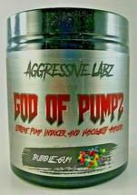 Aggressive Labz GOD OF PUMPZ Extreme Pump & Vascularity Formula, 30 Serv... - $24.99