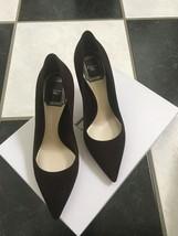 NIB 100% AUTH Christian Dior Cherie Brown Suede Pointy Pumps 8cm $650 SZ 35 - $398.00