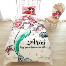 Disney Little mermaid Ariel fantagic futon cover 3-piece Bedding pillow ... - $85.14