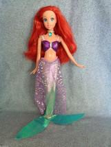 "2006 Mattel Disney Ariel Little Mermaid Doll Shimmer Princess 11"" - $11.83"