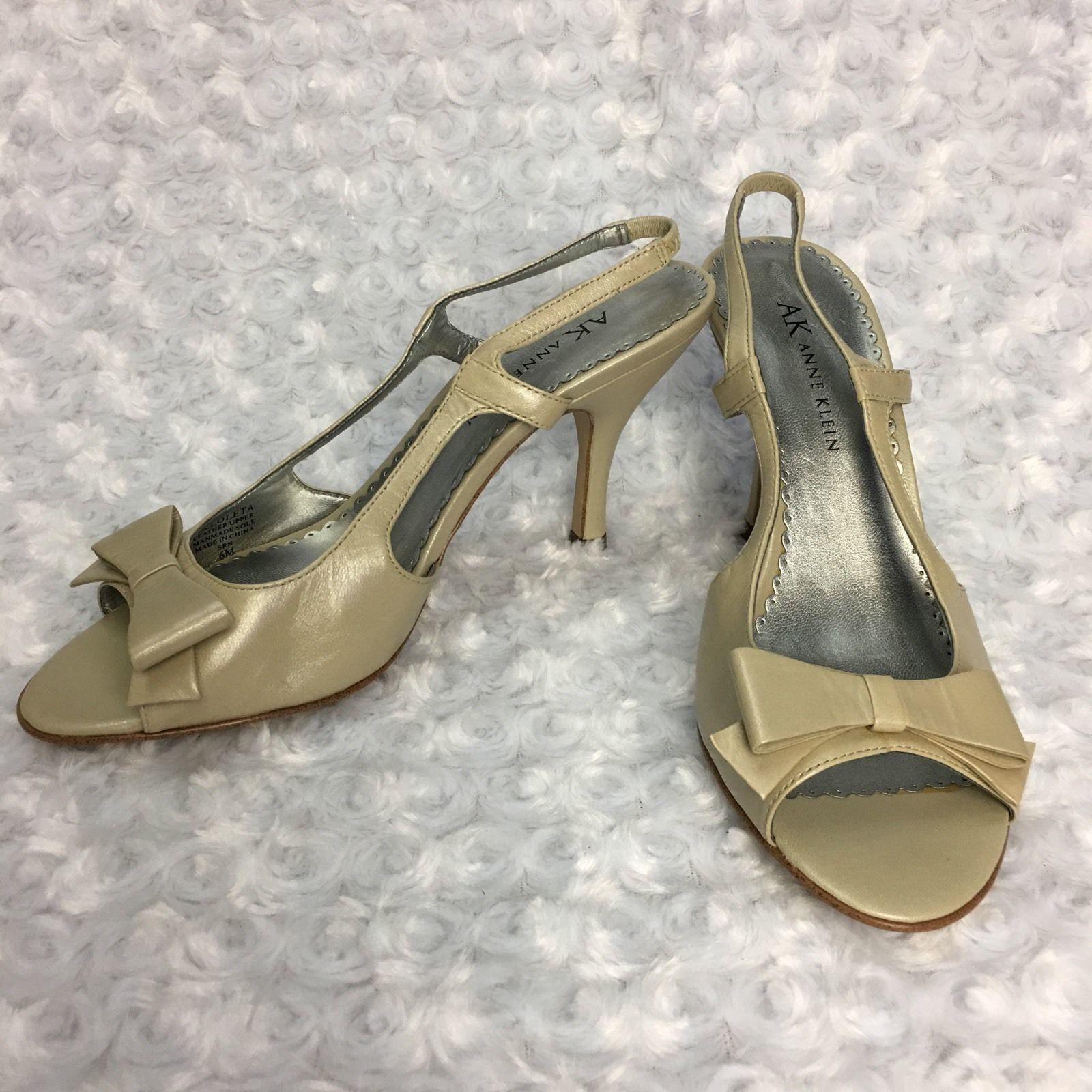 a2683b330907 Anne Klein Tan Beige Slingback Kitten Heel w and 50 similar items. 57