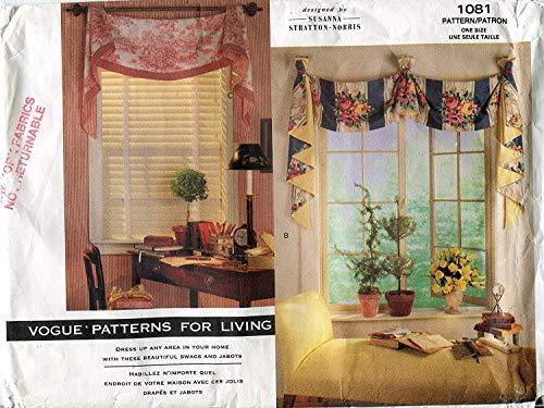 Primary image for Vogue Patterns for Living 1081 Susanna Stratton-Norris Window Treatments