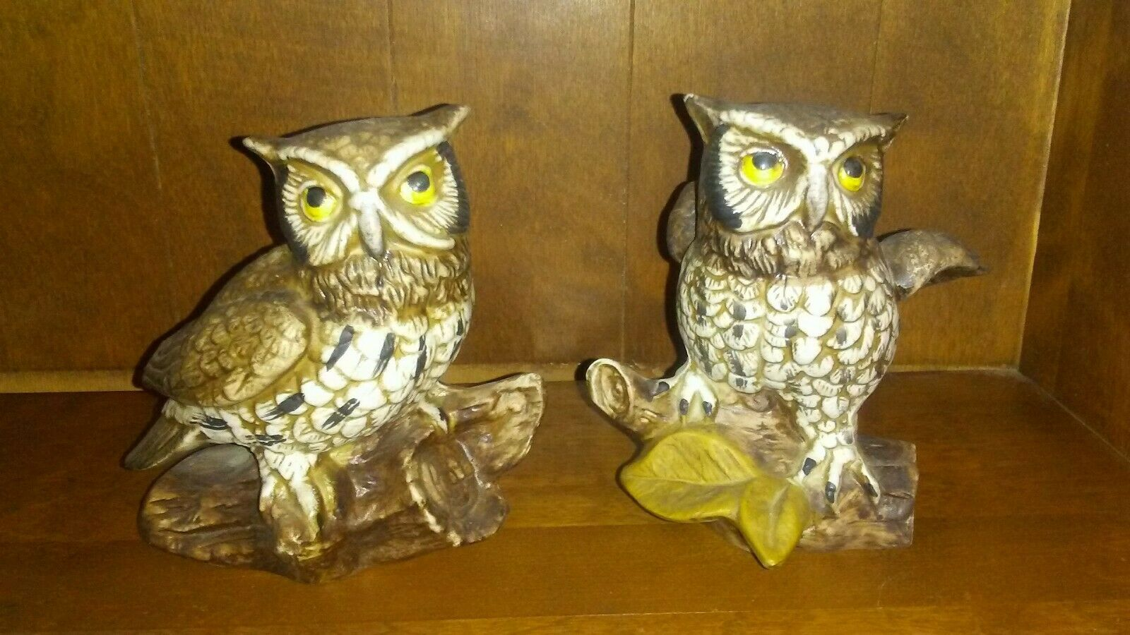 Primary image for Bone China Owl Figures 5 Inch