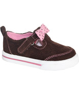Garanimals Infant Girls Casual Cord Shoe Pink Bow Sizes 4 or 5 NWT - $11.99