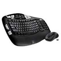 Logitech 920-002555 MK550 2.4 GHz Wireless Keyboard, Mouse - Laser - USB... - $84.21