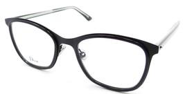 Christian Dior Rx Eyeglasses Frames Montaigne 42 FIE 52-19-145 Matte Black Italy - $161.70