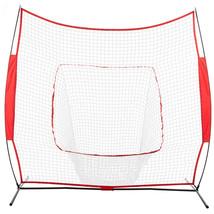 Baseball Train Net Rack Rebound Goal Red Sleevelet - $84.95