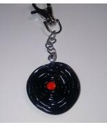 Unique Record Charm Keychain Accessory Clay Charm Record Retro Fob Keys ... - $6.50