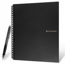 Elfinbook 2.0 Smart Notebook Microwave Notebook Erasable Paper With Eras... - $22.99