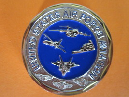 United States Air Force Aviation Challenge Coin (NEW)--D45-4 - $11.90