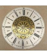 "Vintage Round Metal & Brass Clock Dial Part 8"" - $19.79"