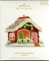 2010 Hallmark Keepsake Ornament - Lollipop Street Noelville - $9.89