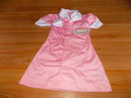 Size Ages 3-6 Melissa & Doug Waitress 50's Diner Pink Role Play Costume ... - $25.00