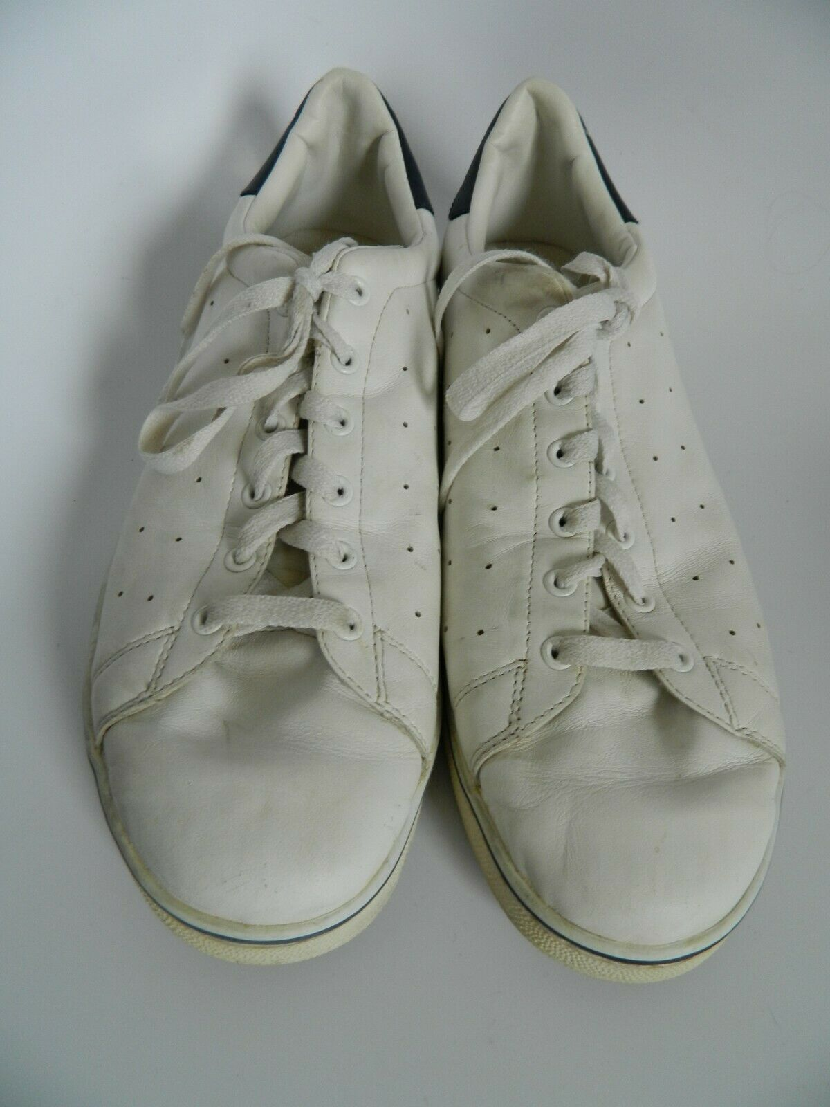 Ralph Lauren Polo Mens White Leather Upper Sneakers Size 13