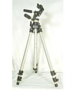 Manfrotto Bogen 3021 pro camera tripod +3047 Deluxe 3-way Pan/tilt Head - $148.49