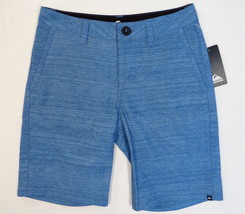 Quiksilver Variegated Blue Shorts Youth Boy's 24 Waist  - $44.54