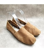BOBS by Skechers Womens  33945 Size 7 Brown  Leather Slip On Loafers flats - $24.99