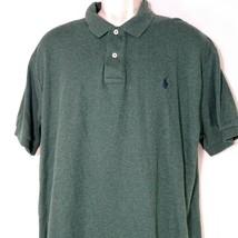 Polo by Ralph Lauren Polo Shirt Men Size XL Green Cotton Short Sleeve - $24.74