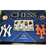 N.Y. Yankees' vs. N.Y. Mets - Chess Game - Ultimate Baseball Strategy Game - $24.95