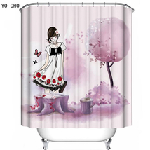 Cartoon 64 Shower Curtain Waterproof Polyester Fabric For Bathroom - $33.30+