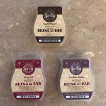 Scentsy Bring Back My Bar Wax Melts Cubes LOT Scentsy Lot - $34.99