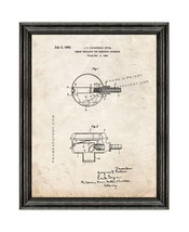 Jacques Cousteau Demand Regulator For Breathing Apparatus Patent Print Old Look  - $24.95+