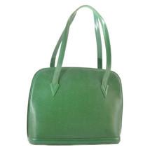 LOUIS VUITTON Epi Lussac Shoulder Bag Green M52284 LV Auth 9441 - $304.00