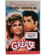 Grease VHS Movie New Sealed 20th Anniversary Widescreen Edition CD & Scr... - $18.00