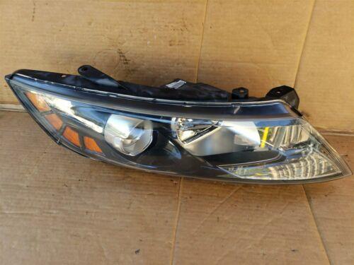 11-13 Kia Optima Headlight Lamp Halogen Passenger Right RH