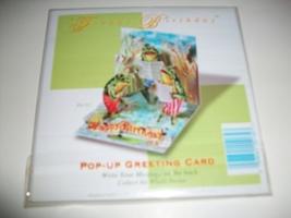 Pop-Shots Froggy Birthday Pop-Up Greeting Card image 1