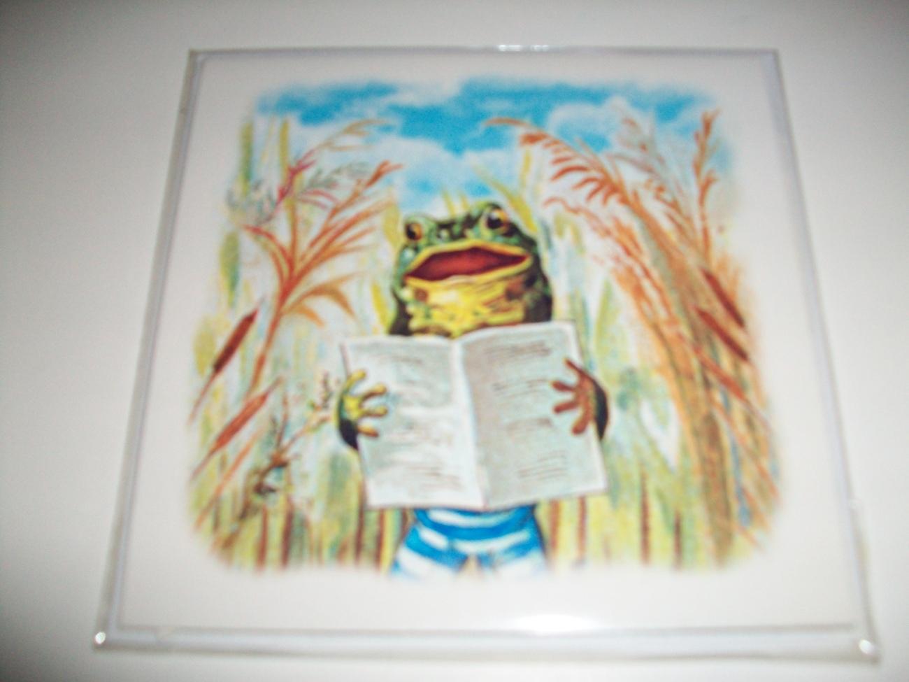 Pop-Shots Froggy Birthday Pop-Up Greeting Card image 2