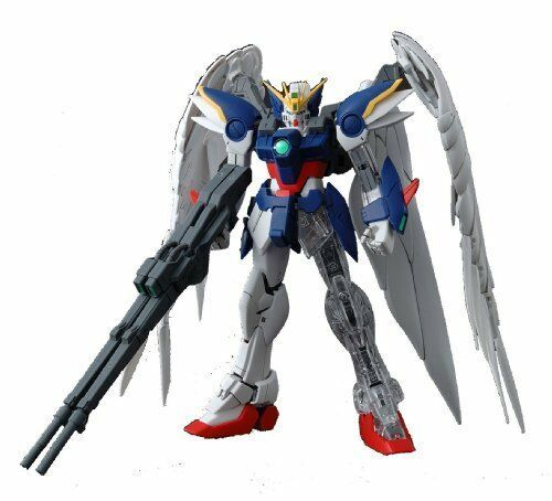 NEW BANDAI MG 1/100 WING GUNDAM ZERO CUSTOM EW with Extend Clear Parts Model Kit
