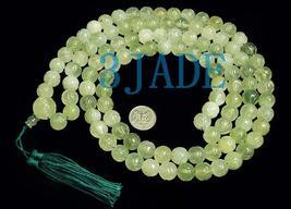 "59"" Hand Carved Tibetan 108 Jade Prayer Beads Mala   image 1"