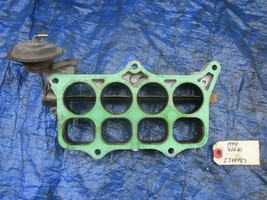 93-01 Honda Prelude H22A4 intake manifold butterfly plate OEM engine VTE... - $49.99