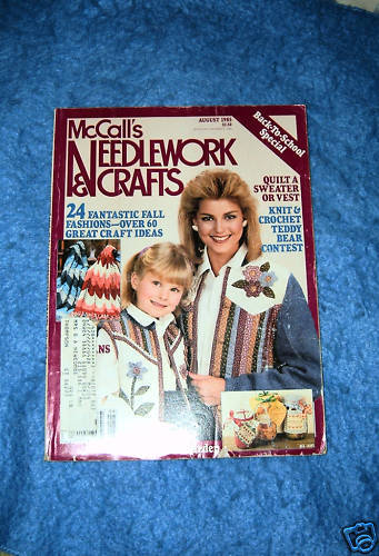 McCall's Needlework & Crafts, August 1985 Issue