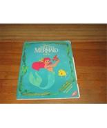 Little Mermaid Disney 1991-92 Paper Dolls; Authentic Original Playset - $40.00