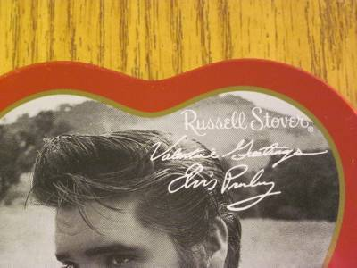 Elvis Presley Valentines Greeting Tin Russel Stover with 2000 EPE Seal image 2