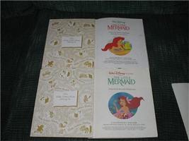 Little Mermaid Vintage 1991-92 TOYS 18 pcs & 3 Little Golden Books Disney  image 6