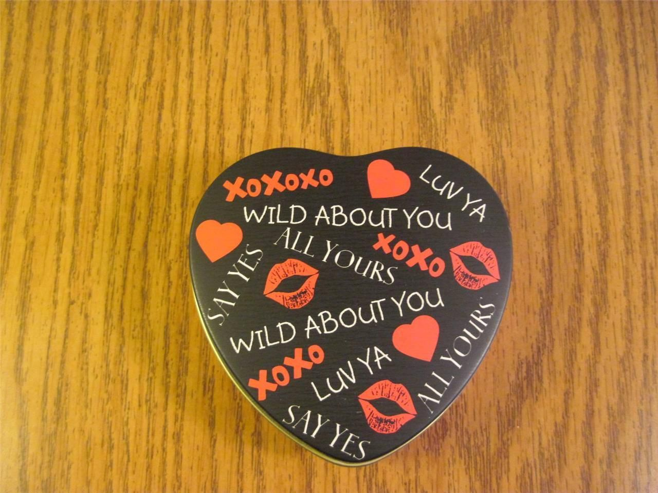 Metal Heart Tin Wild About You