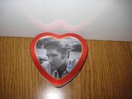 Elvis Presley Valentines Greeting Tin Russel Stover with 2000 EPE Seal image 6